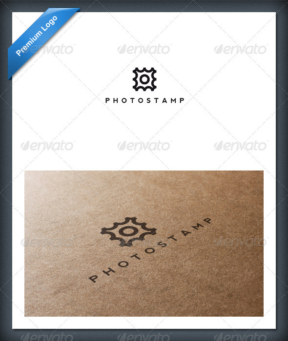 Photo Stamp Logo Template - Objects Logo Templates