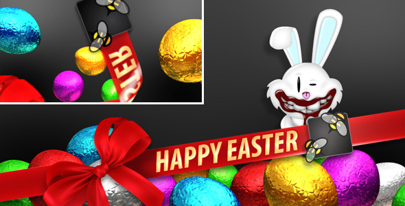 After Effects Project - VideoHive Easter Branding Lower Third 1940657