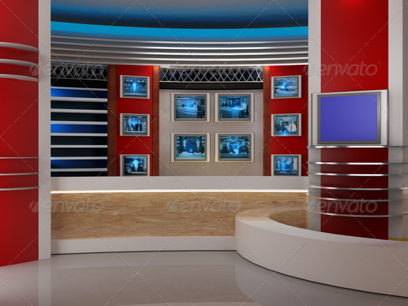 Stock Photo - PhotoDune studio tv 1942836