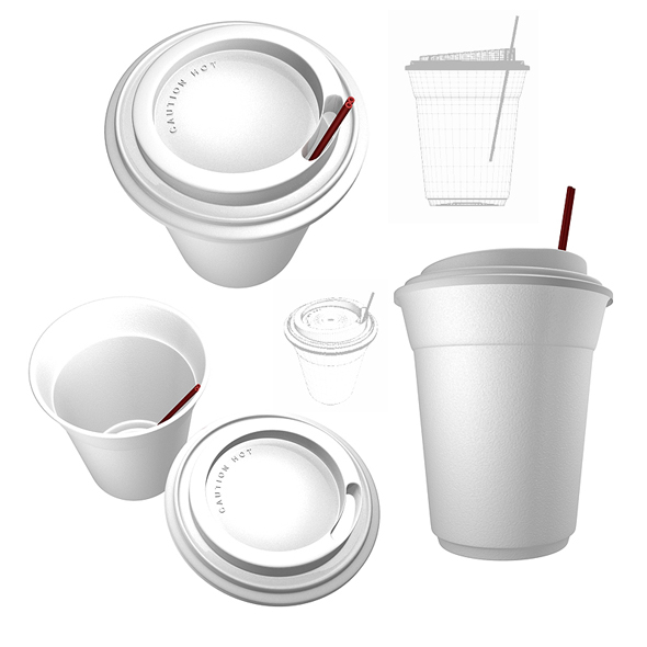 3DOcean Coffee Cup 3D Models -  Food and drinks 74800