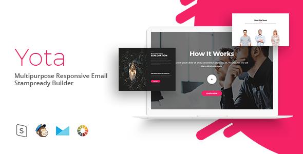 Yota – Responsive Email Template Minimal