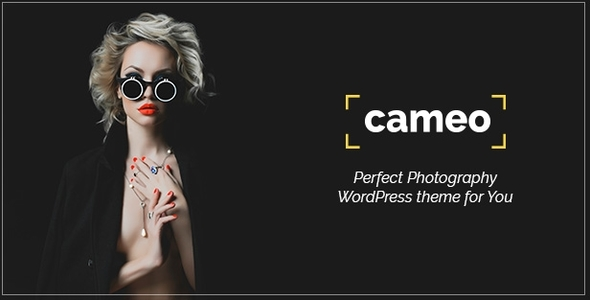 Cameo | Photography WordPress Theme