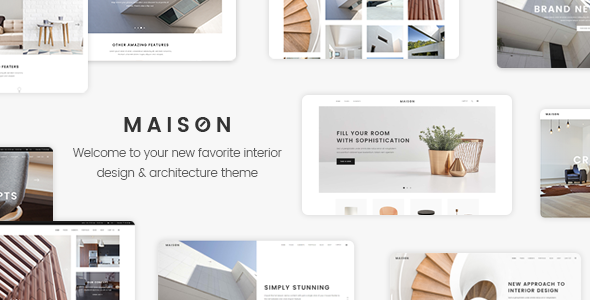 Maison – A Modern Theme for Architects and Interior Designers