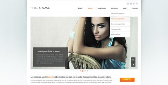 Business Site Template - HTML5  - Screenshot 1