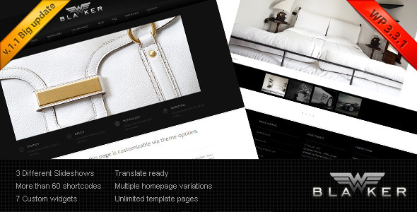 Blacker - Wordpress Version - Creative WordPress