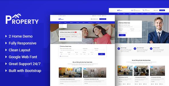 Property – Agency/Single property HTML