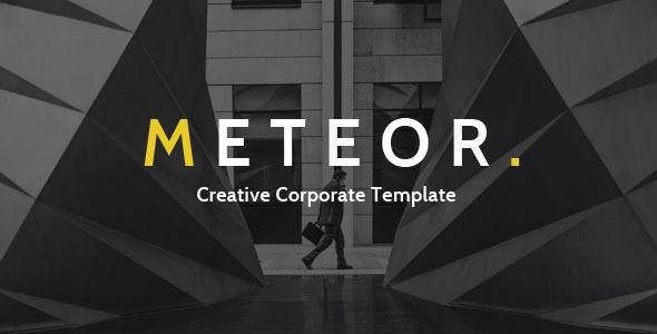 Meteor Creative Corporate Template