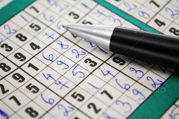 Sudoku - Stock Photo - Images