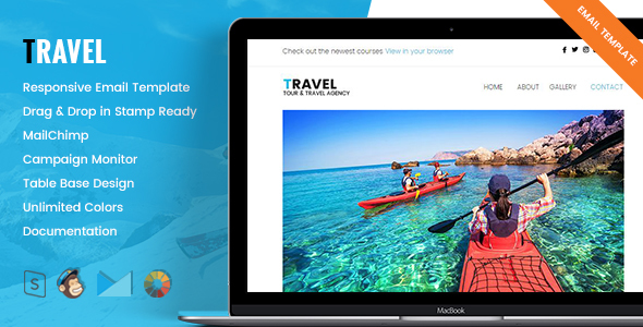 Travel – Responsive Tour & Travel Email Template