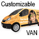 Customizable Van Mockup - GraphicRiver Item for Sale