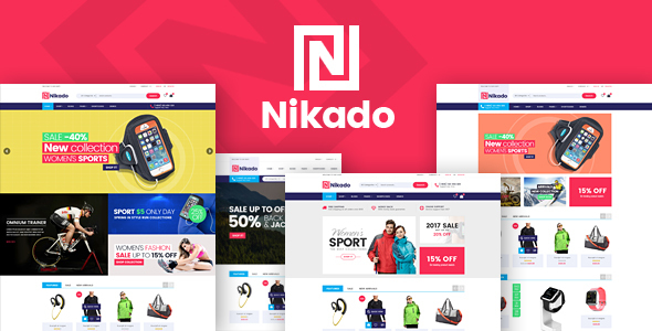 Nikado – Responsive Magento Theme
