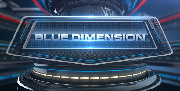 VideoHive Blue Dimension 1946823