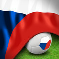 Soccer ball and flag euro Czech Republic - PhotoDune Item for Sale