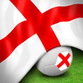 Soccer ball and flag euro England - PhotoDune Item for Sale