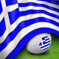 Soccer ball and flag euro Greece - PhotoDune Item for Sale