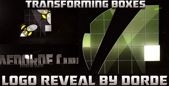 After Effects Project - VideoHive Transforming Boxes Logo Reveal 1946849