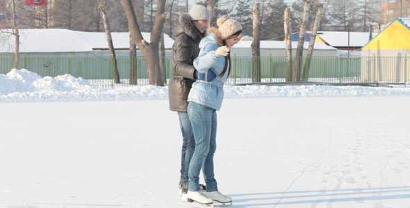 VideoHive Skating Together 1947020