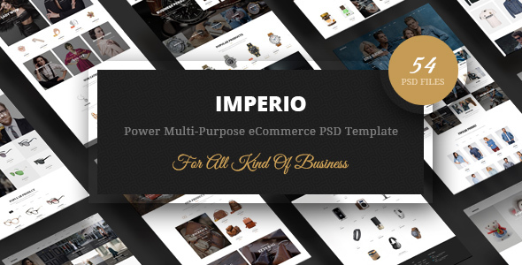 Imperio – Power Multi-Purpose eCommerce PSD Template