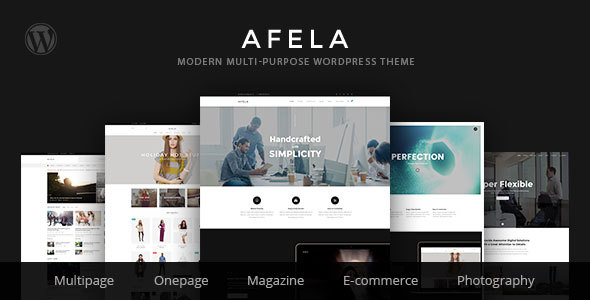 VG Afela – Flexible Multi-Purpose WordPress Theme