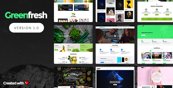 GreenFresh – Creative Multiuse WordPress Theme