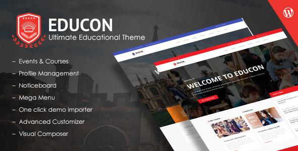 Educon – Education WordPress Theme