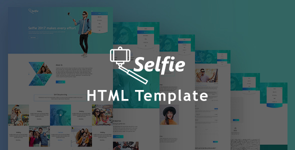 Selfy Multipurposes Photography HTML5 Responsive Template