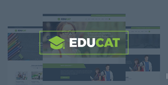 Educat – Education & LMS WordPress Theme