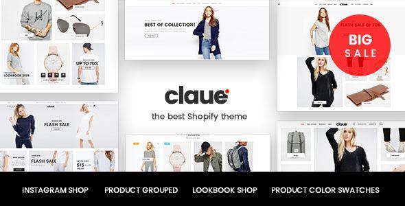 Claue – Responsive, Minimalist Shopify Theme