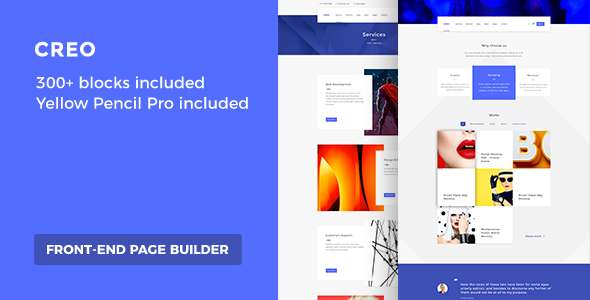 Easy Customizable WordPress Theme – Creo