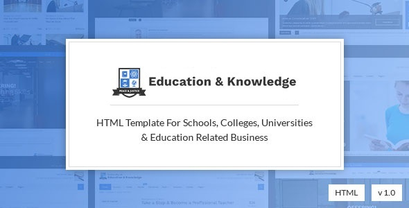 Education and Knowledge – University, College and School Education