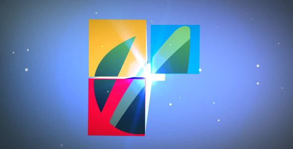 VideoHive Colored Cube 1951796