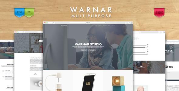 Warnar – Creative Multipurpose Template