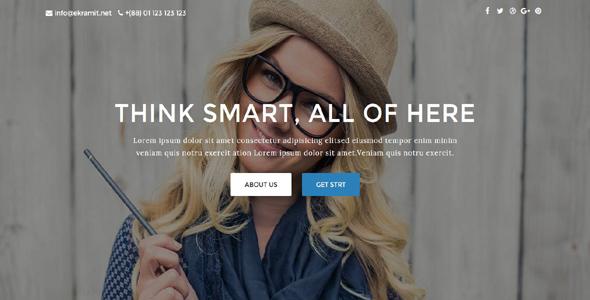 Kakon – Design Studio Marketing Agency Template