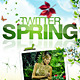 Twitter Background | Spring - GraphicRiver Item for Sale