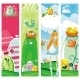 Easter vertical banners - GraphicRiver Item for Sale
