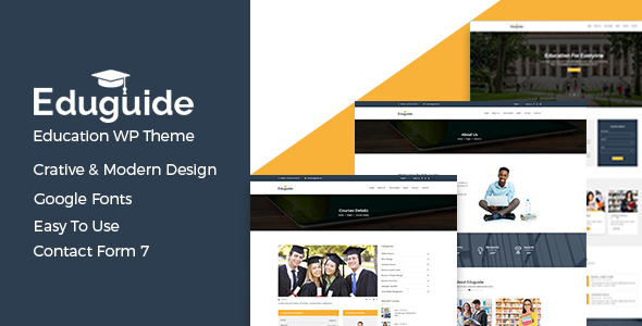 Eduguide – Education WordPress Theme