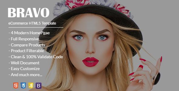 Bravo eCommerce HTML5 Template