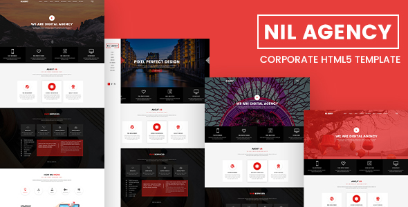 Nil Agency – Corporate HTML5 Template