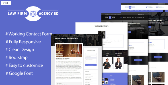 Law Firm Agency Template