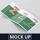 Z-Fold Brochure Mockup - Din A4 A5 A6-Graphicriver中文最全的素材分享平台