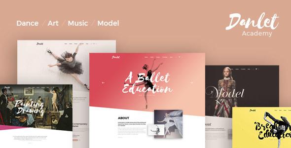 Danlet Academy WordPress Theme