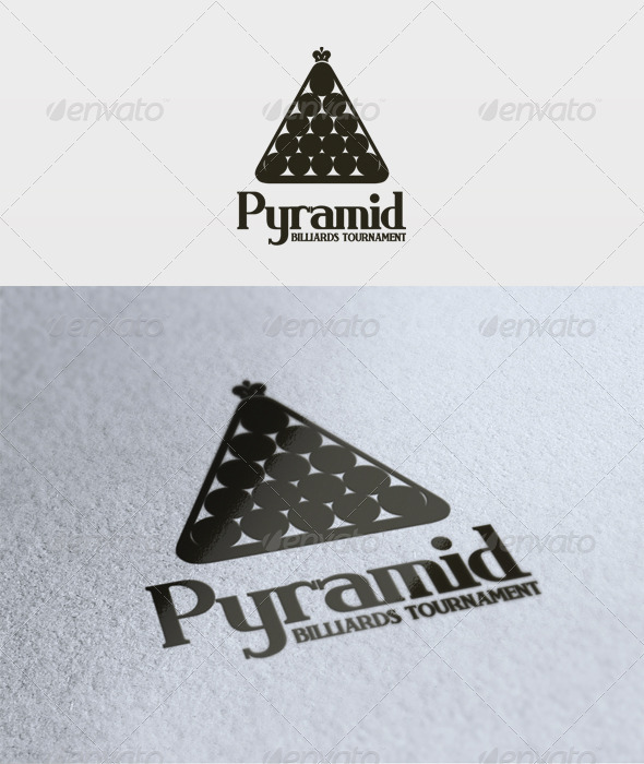 Blue Pyramid Logo Graphicriver Pyramid Logo