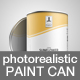 Paint Can - GraphicRiver Item for Sale