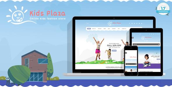 Kids Plaza – Baby, Child Care Responsive Prestashop 1.7 Theme