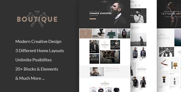 Boutique – Multipurpose eCommerce Template
