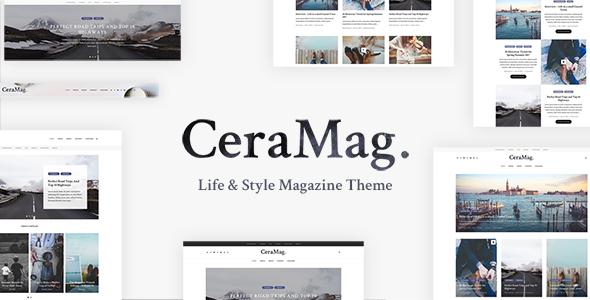 CeraMag – Life & Style Magazine Theme