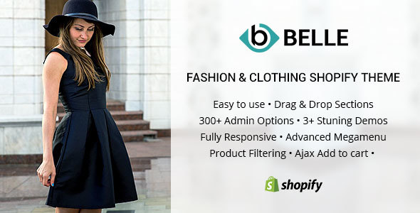 Belle – Clothing and Fashion Shopify Theme