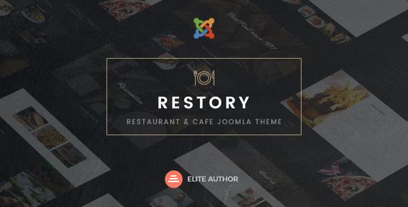 Restory – Restaurant & Cafe Joomla Template