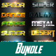 40 Foxe Bundle Text Effect -Graphicriver中文最全的素材分享平台