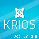 Krios Template for Joomla - ThemeForest Item for Sale